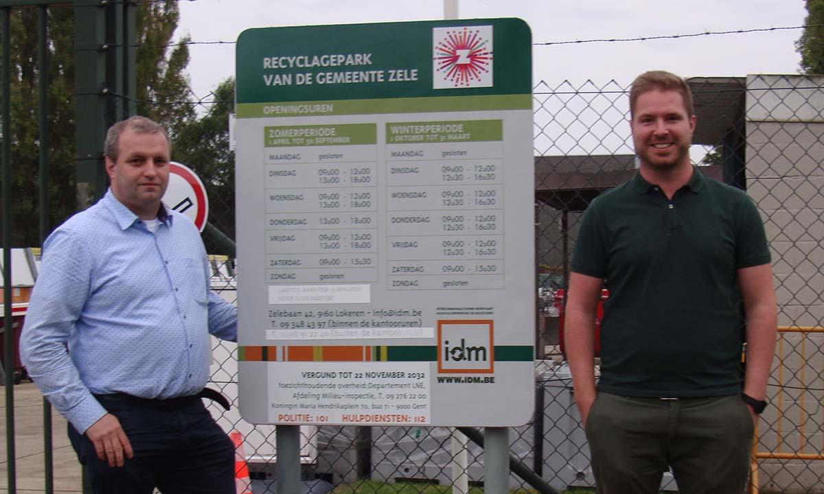 Open Vld Zele wenst een educatieve rol voor het nieuwe recyclagepark