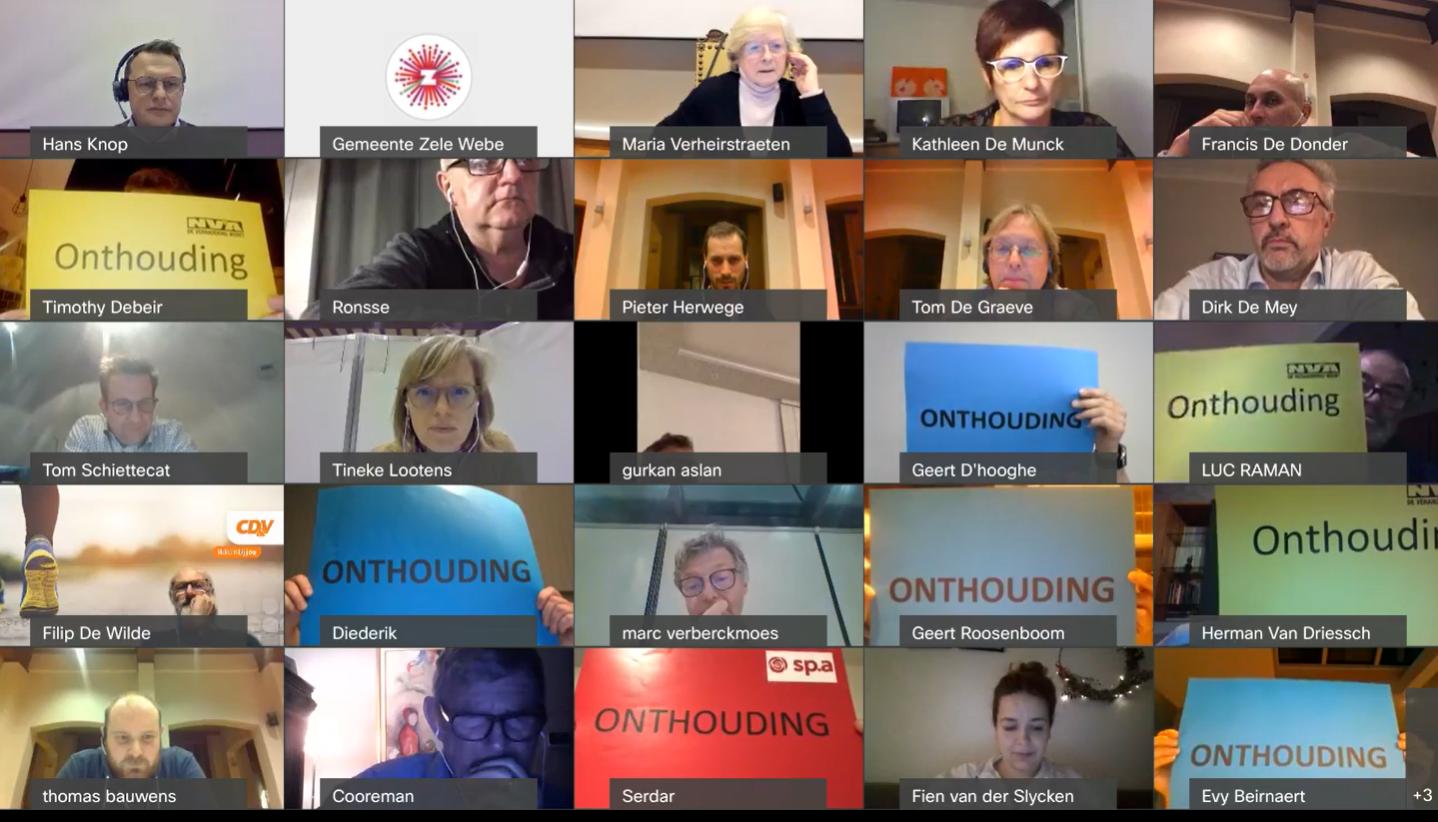 Voltallige oppositie verzet zich tegen de beperking van spreekrecht tijdens de gemeenteraad.