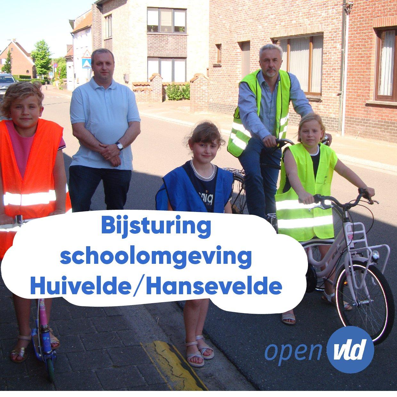 Bijsturing schoolomgeving Huivelde/Hansevelde